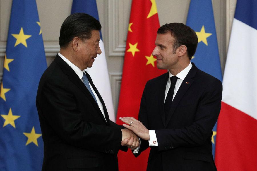 中法两国领导人呼吁贸易改革.jpg