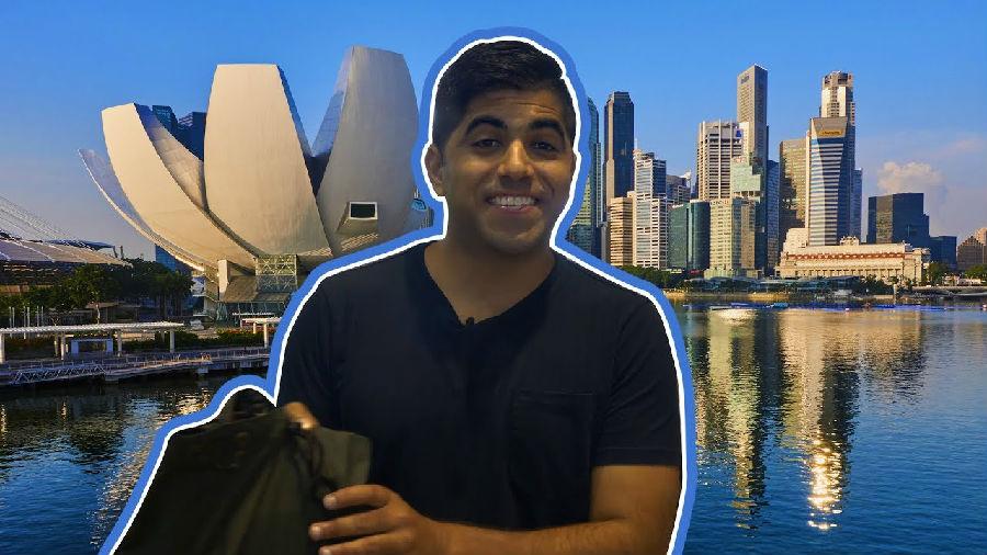 新加坡的监控摄像