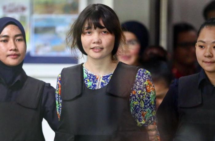 涉嫌毒杀金正男的越南女子有望获释.jpg