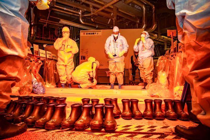 福岛核电站移除熔化反应堆中的燃料.jpeg