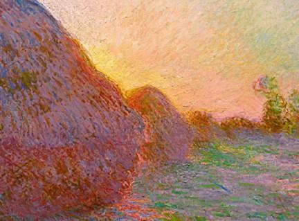 莫奈名畫《干草堆》拍出1.1億美元 創印象派畫作價格新高.jpg