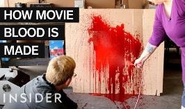 电影里的血渍