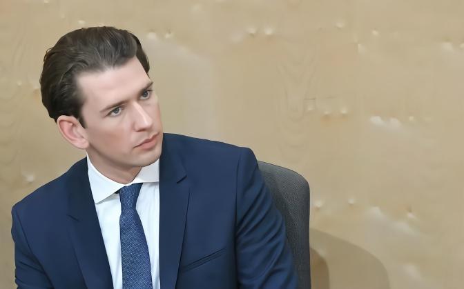 """奥地利总理因""""通俄门""""下台.jpeg"""