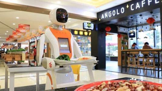 韩国推出机器人冲泡咖啡服务.jpg