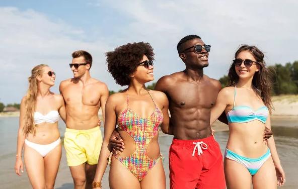外国人觉得越黑越美吗