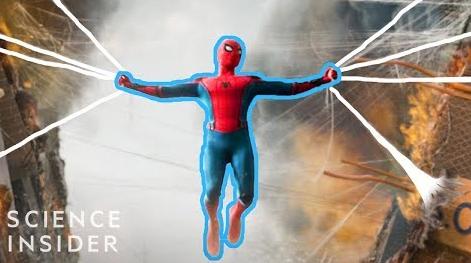 蜘蛛侠的人造丝线
