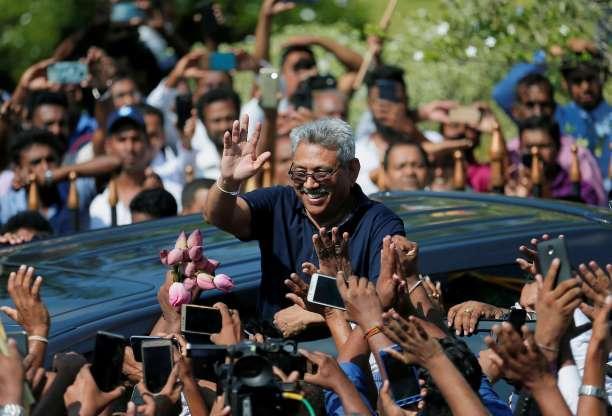 斯里兰卡前总统弟弟参加大选.jpeg