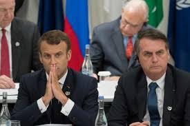 巴西法国两国总统因火灾救援问题起冲突.jpg