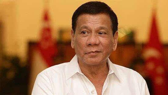 菲律宾总统杜特尔特 资料图.jpg