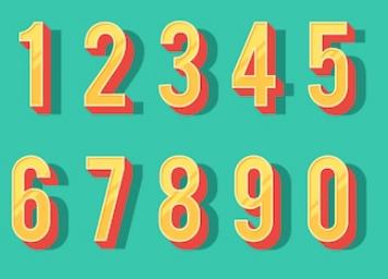 关于英文中数字的表达