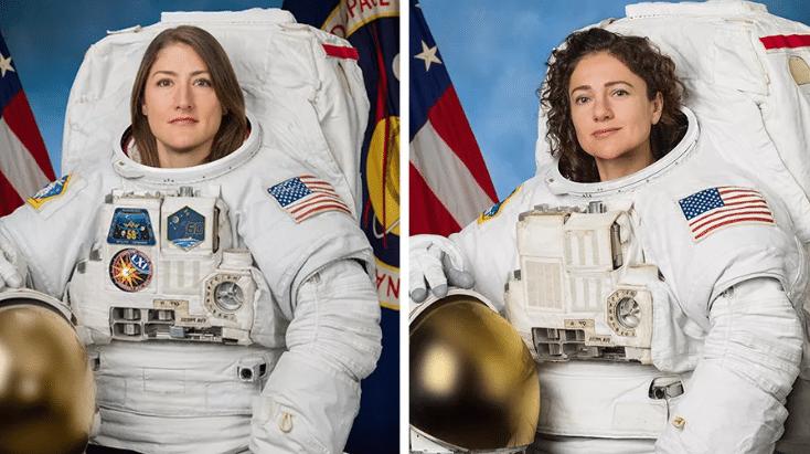 两名宇航员完成人类首次全女性太空行走.jpg