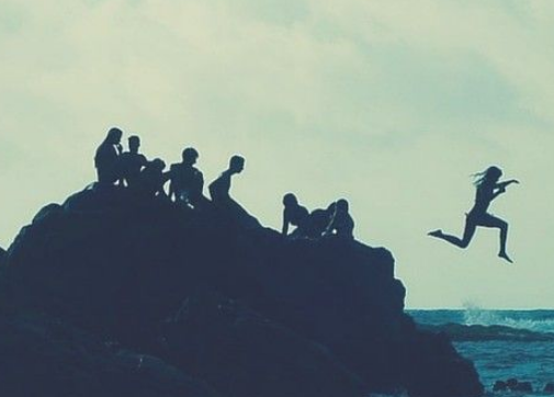 冒险精神启发其他人