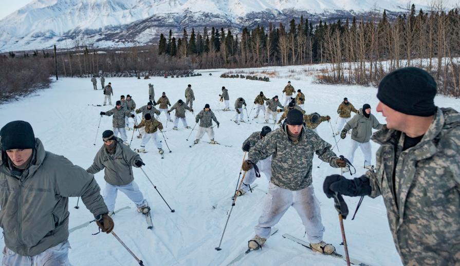 融化的北极正使一场新的冷战升温