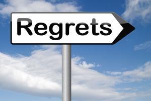 后悔过去的选择