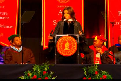 米歇尔·奥巴马2015塔斯基吉大学毕业演讲