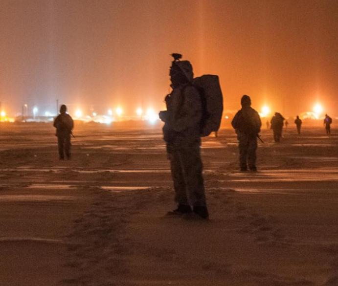 融化的北極正使一場新的冷戰升溫