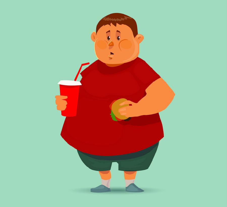 对肥胖的看法