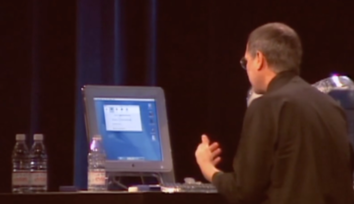 2001年MacWorld大会 乔布斯介绍iTunes