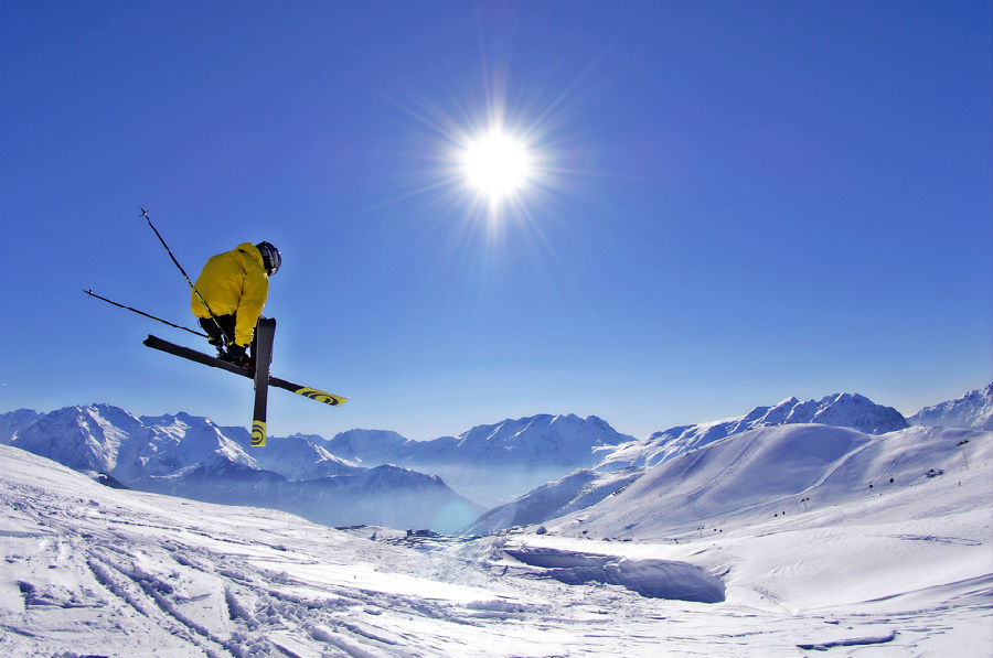 """法国滑雪场或将""""无雪可降"""".jpg"""