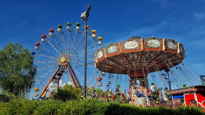 捷克最大的露天游樂場