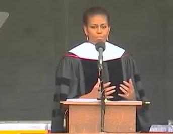 米歇尔·奥巴马2015欧柏林学院毕业演讲