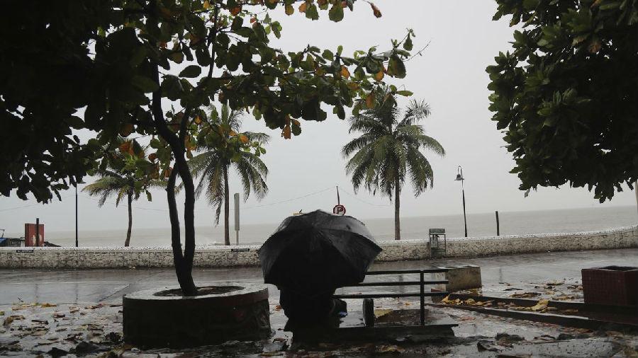印度遭遇强热带风暴