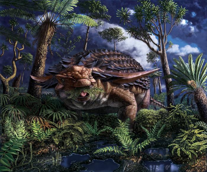 科学家发现1.1亿年前恐龙的最后一餐.jpg