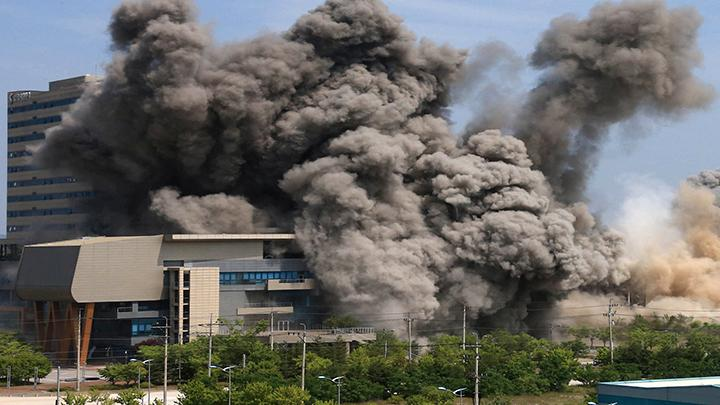 朝鲜炸毁朝韩共同联络办公室.jpg