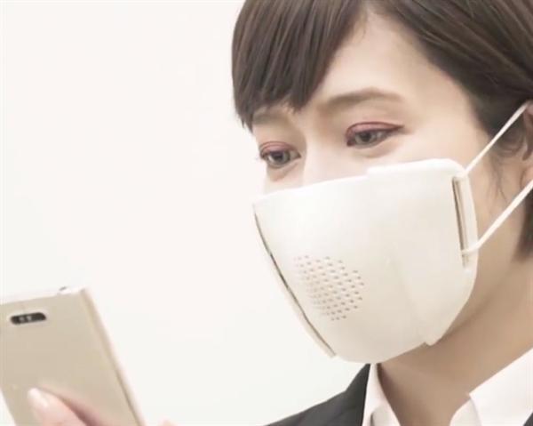 日本研发智能口罩可翻译8种语言.jpeg