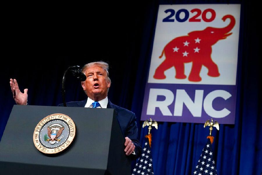 特朗普意外现身共和党大会
