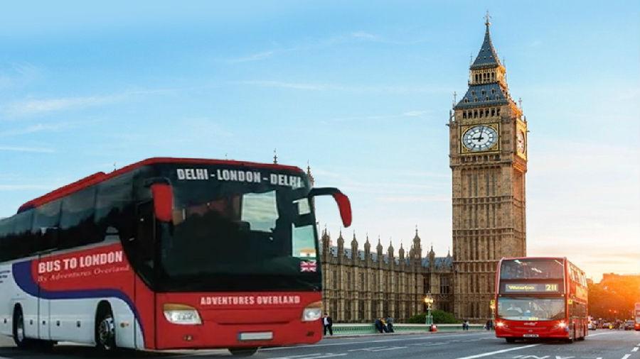 从德里到伦敦的直达巴士将开通.jpg