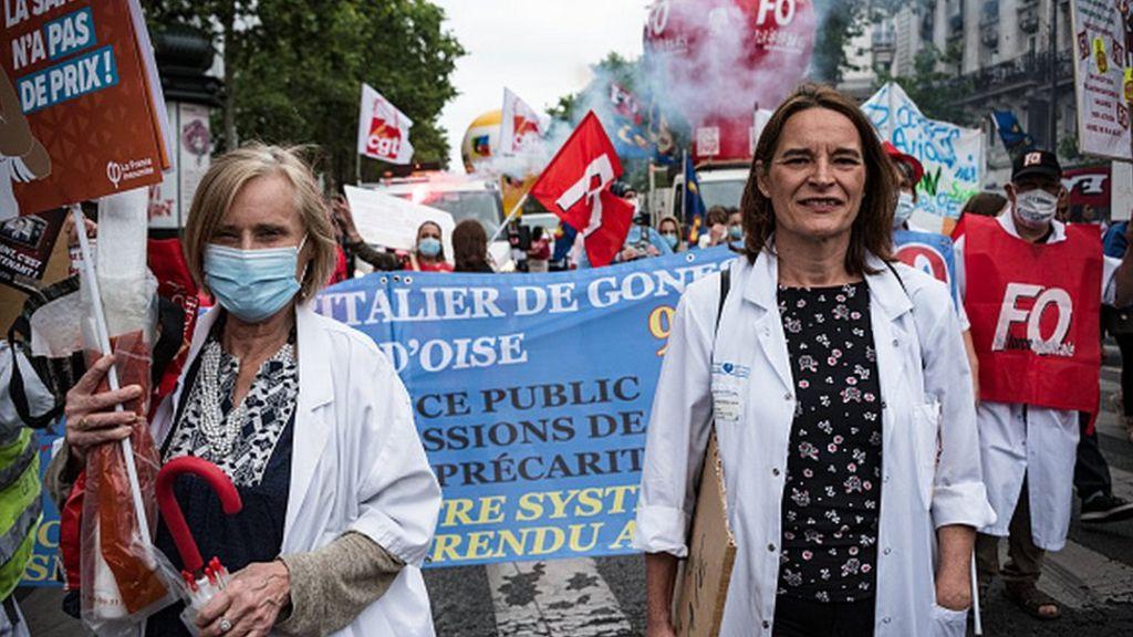法国医务人员加薪90亿美元