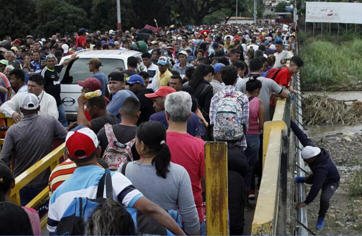 委内瑞拉人因疫情再次逃离国家.jpg