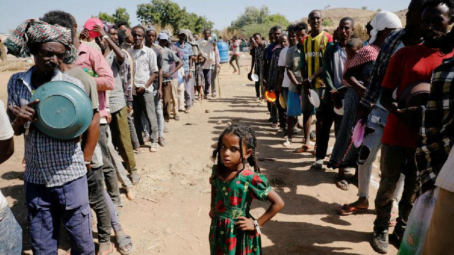 联合国:埃塞俄比亚近10万难民粮食耗尽.jpg