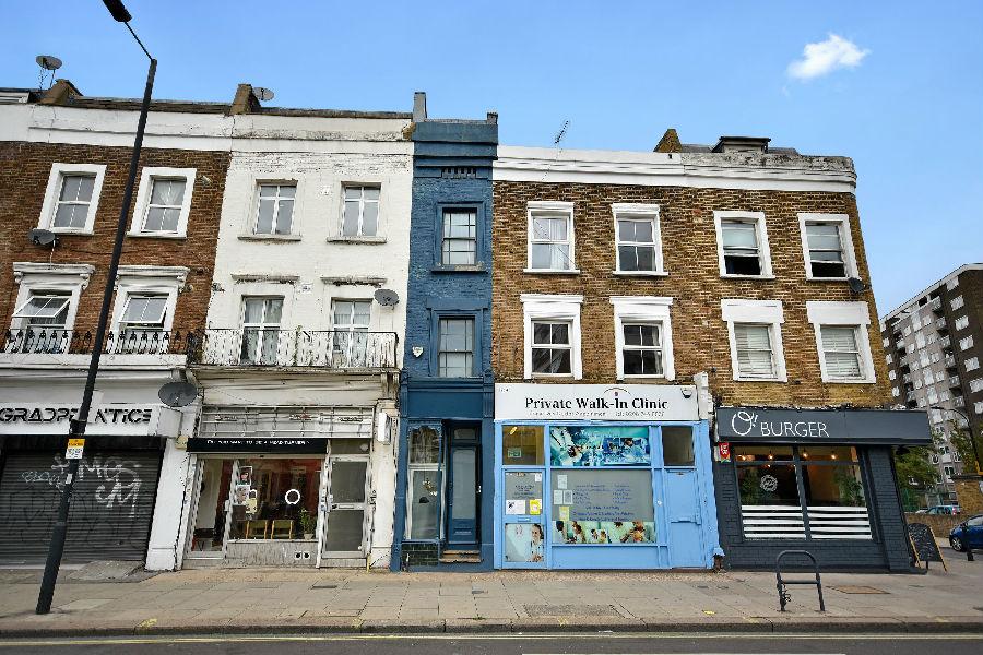 """英國倫敦""""最瘦""""住宅出售.jpg"""