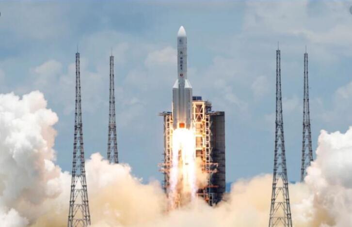 中国发射能捕捉太空碎片的机器人.jpg
