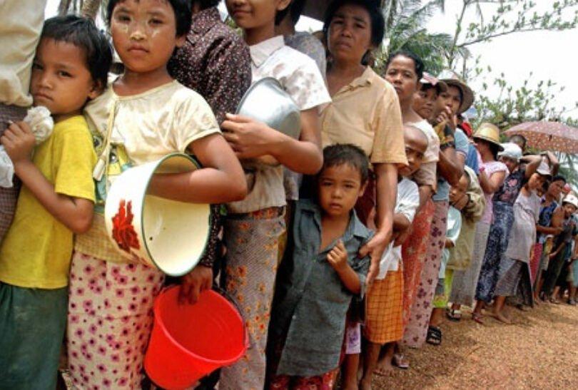 联合国报告缅甸的政治动荡可能使该国近一半人口陷入贫困.jpg
